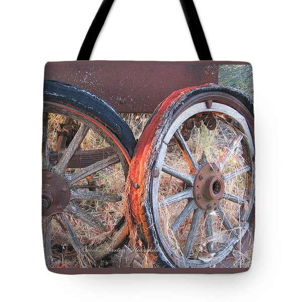 Tote Bag featuring the photograph My Rambling Days Are Done by Brooks Garten Hauschild