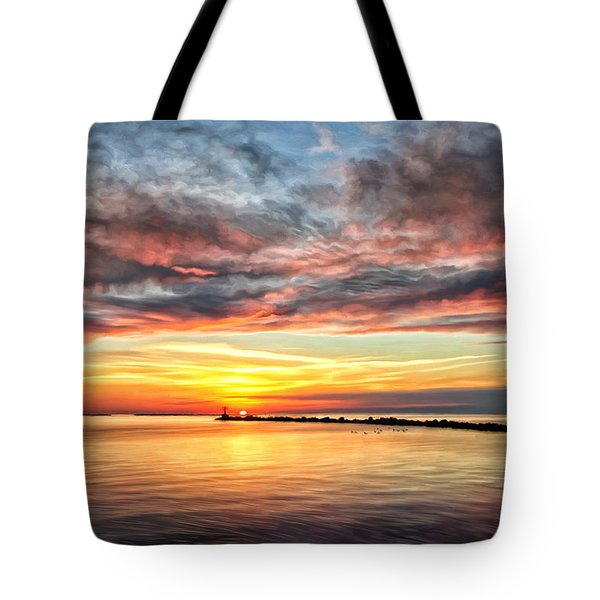 My Return To Cape Charles Virginia Tote Bag