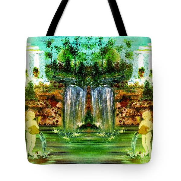 Tote Bag featuring the painting My Rome by Denise Tomasura