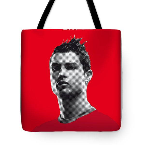 My Ronaldo Soccer Legend Poster Tote Bag by Chungkong Art