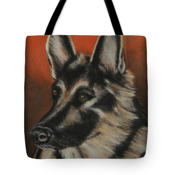 Tote Bag featuring the painting My Sadie by Jeanne Fischer