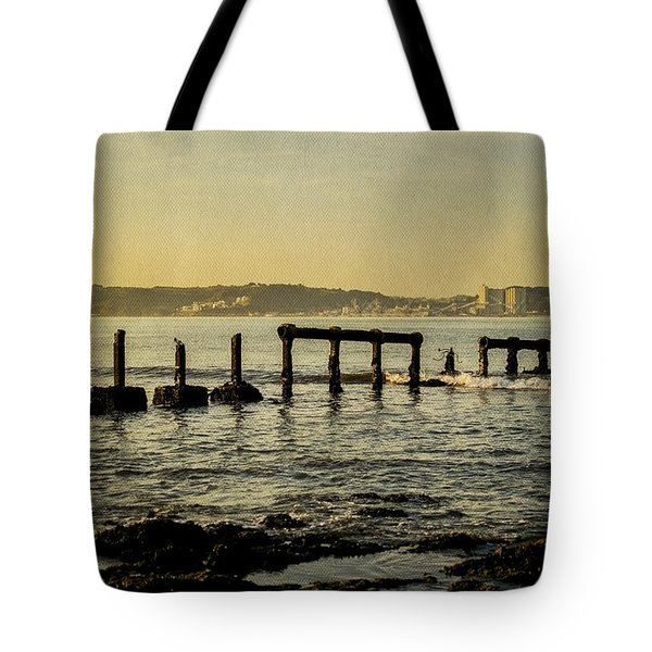 My Sea Of Ruins II Tote Bag by Marco Oliveira