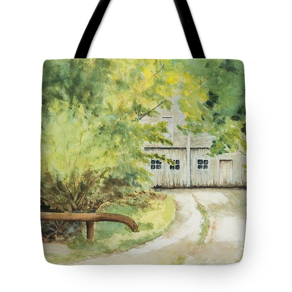My Secret Hiding Place Tote Bag by Lee Beuther