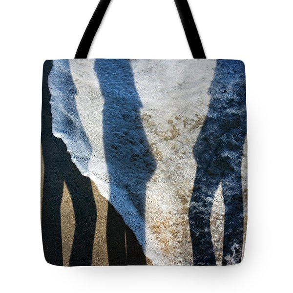 My Shadow Follows Me Tote Bag by Betsy Knapp