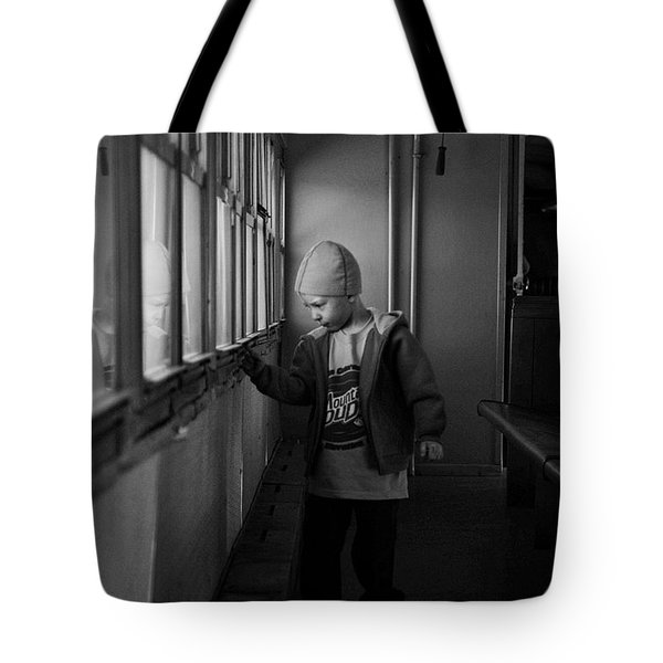Tote Bag featuring the photograph My Shadow by Jeremy Rhoades