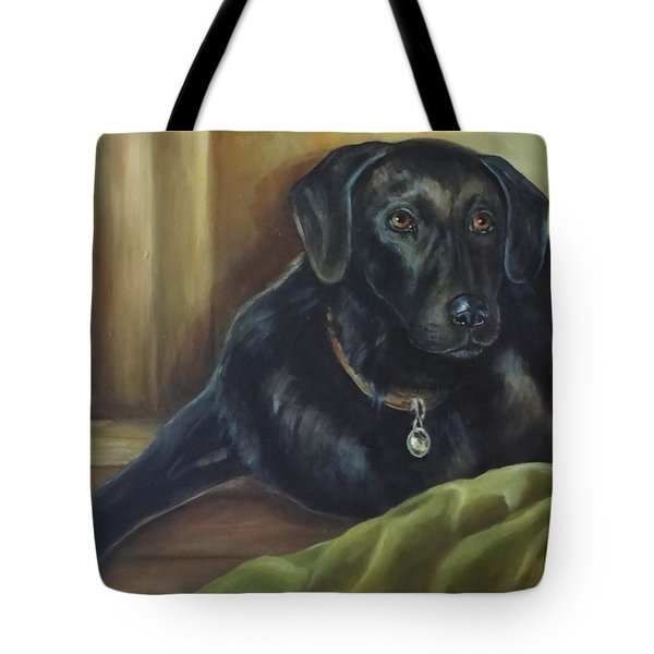 My Shadow Tote Bag by Laurine Baumgart