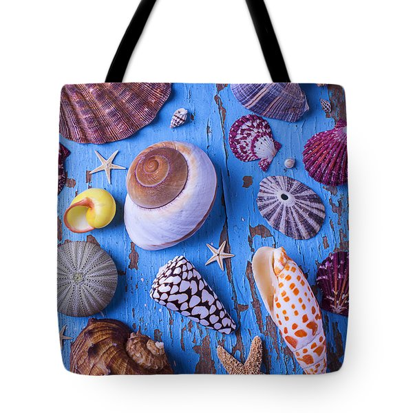 My Shell Collection Tote Bag by Garry Gay