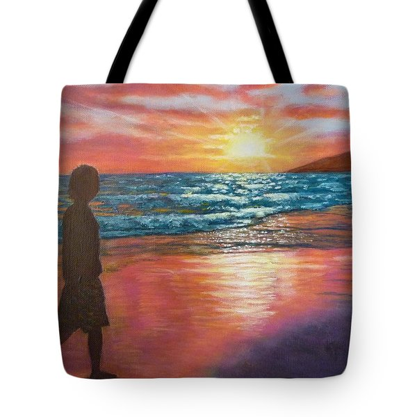 My Sonset Tote Bag