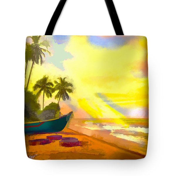 My Special Island Tote Bag