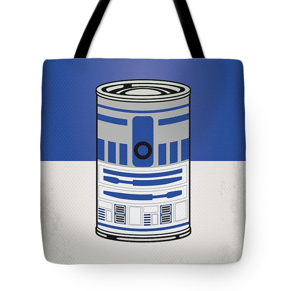 My Star Warhols R2d2 Minimal Can Poster Tote Bag by Chungkong Art