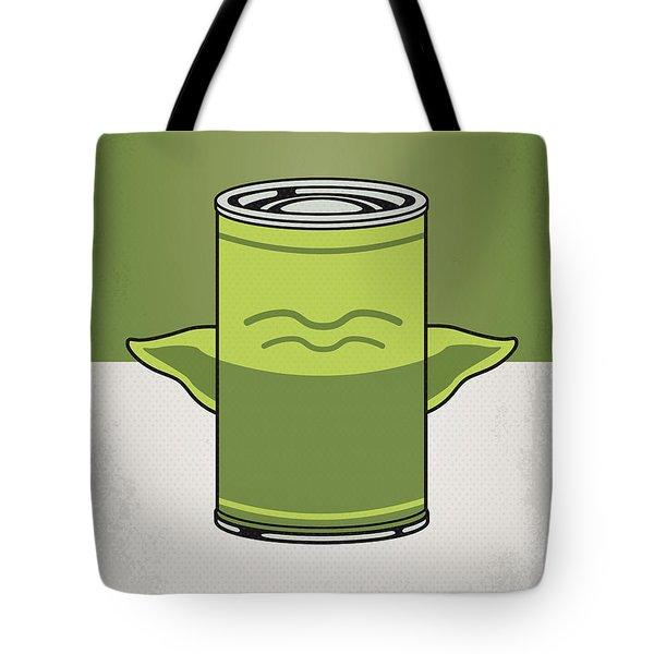 My Star Warhols Yoda Minimal Can Poster Tote Bag
