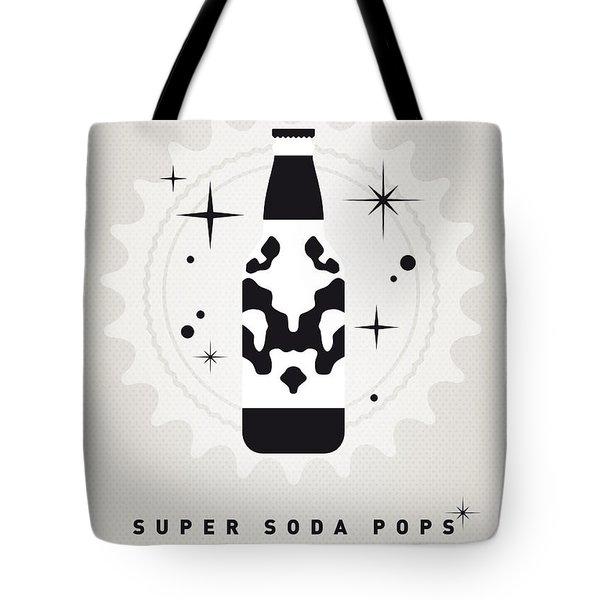 My Super Soda Pops No-12 Tote Bag by Chungkong Art