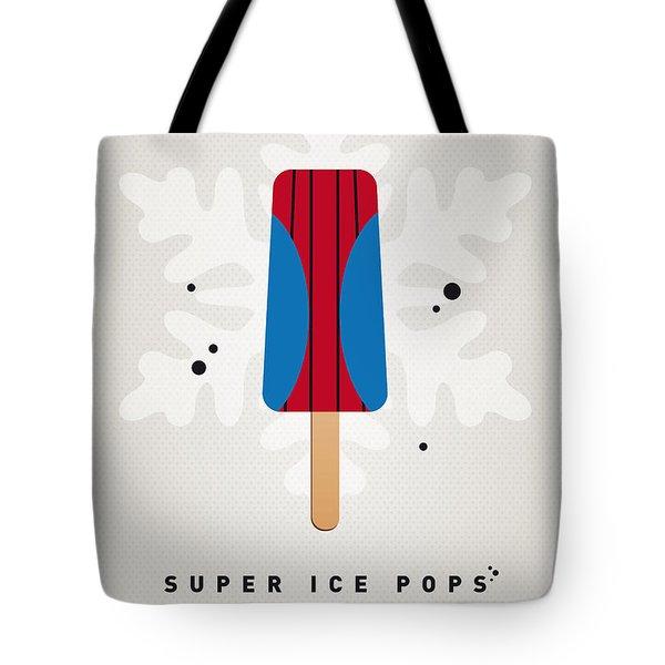 My Superhero Ice Pop - Spiderman Tote Bag by Chungkong Art
