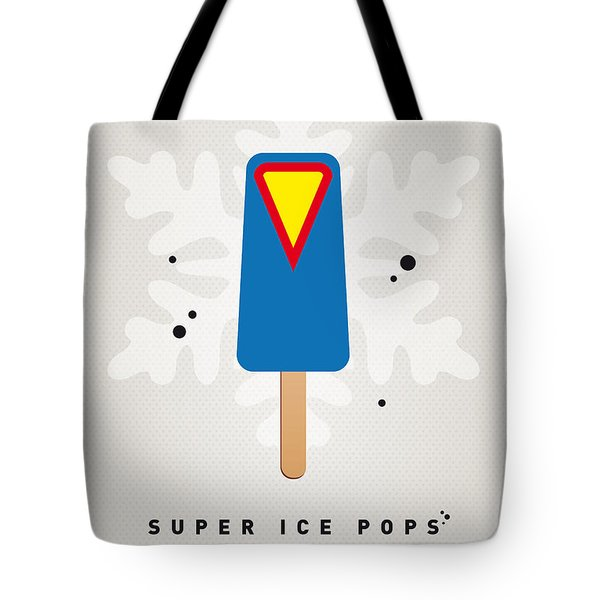 My Superhero Ice Pop - Superman Tote Bag