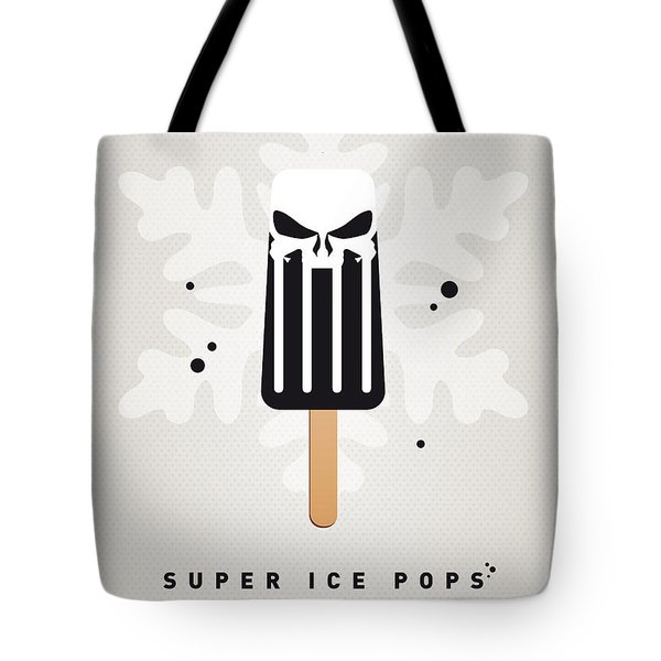 My Superhero Ice Pop - The Punisher Tote Bag by Chungkong Art