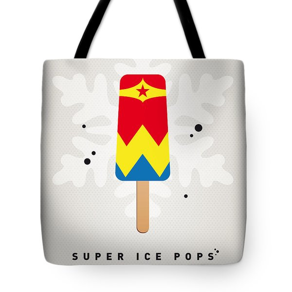 My Superhero Ice Pop - Wonder Woman Tote Bag