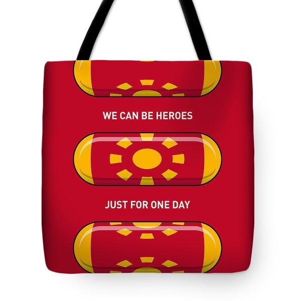 My Superhero Pills - Iron Man Tote Bag by Chungkong Art