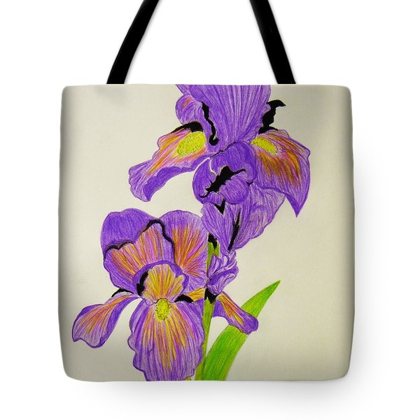 My Sweet Iris Tote Bag