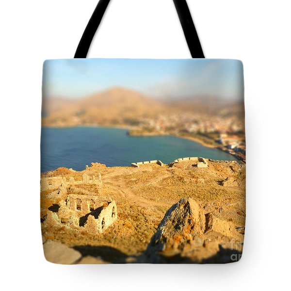 Tote Bag featuring the photograph My Toy Castle by Vicki Spindler