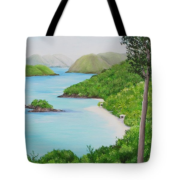 My Trunk Bay Tote Bag