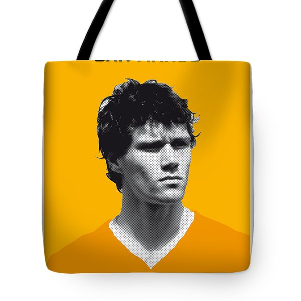 My Van Basten Soccer Legend Poster Tote Bag by Chungkong Art