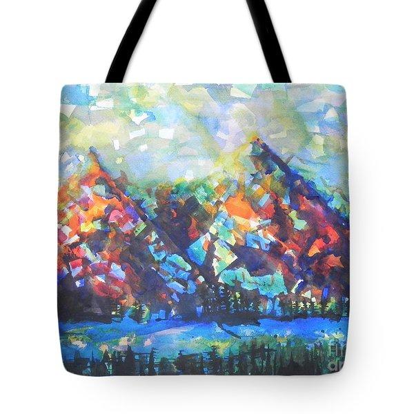 My Vision Say It Out Loud Tote Bag by Chrisann Ellis