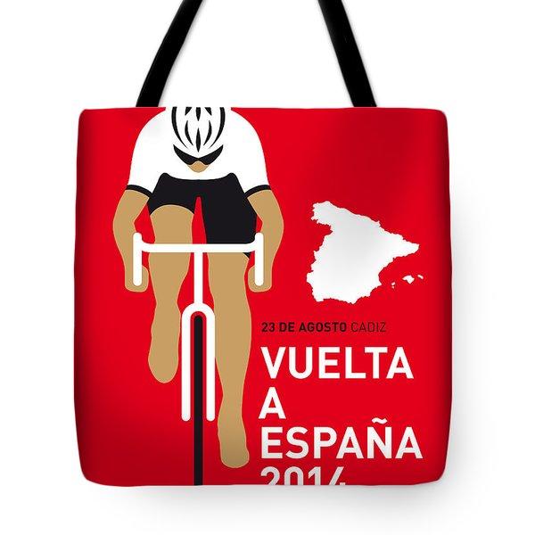 My Vuelta A Espana Minimal Poster 2014 Tote Bag