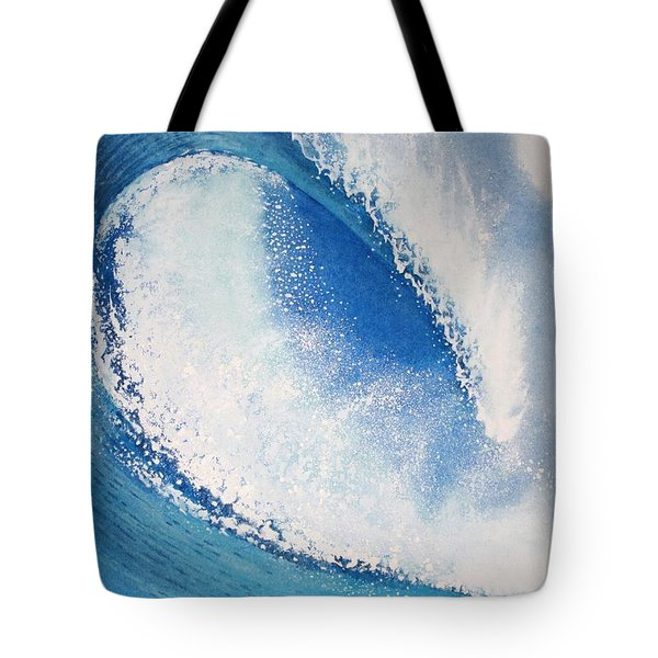 My Wave Tote Bag by Jeff Lucas