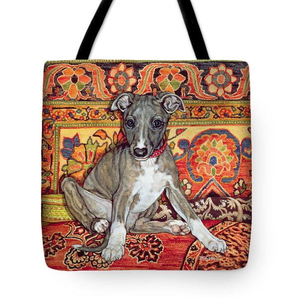 My Whippet Baby Tote Bag