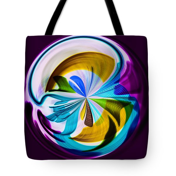 My World Tote Bag by Sonya Lang