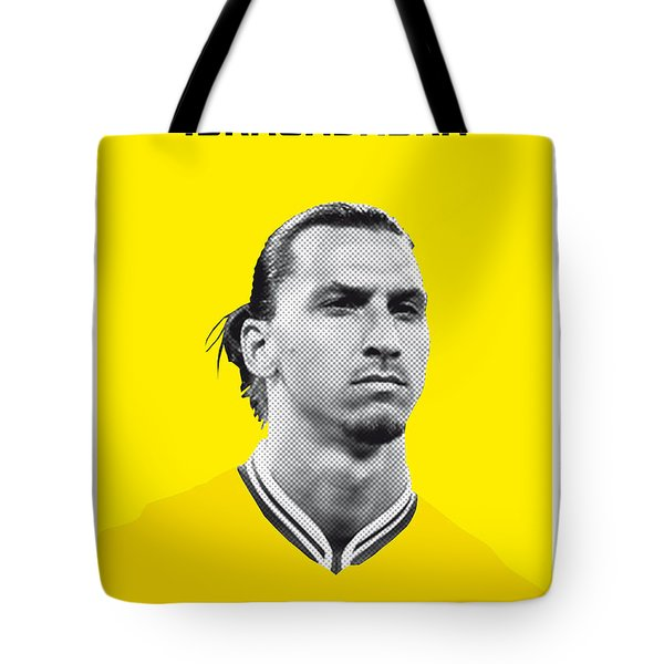 My Zlatan Soccer Legend Poster Tote Bag by Chungkong Art