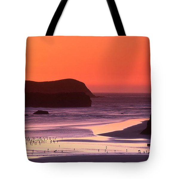 Myers Creek Sunset Tote Bag