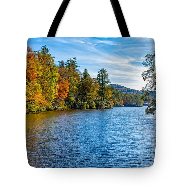Myriad Colors Of Nature Tote Bag by John M Bailey