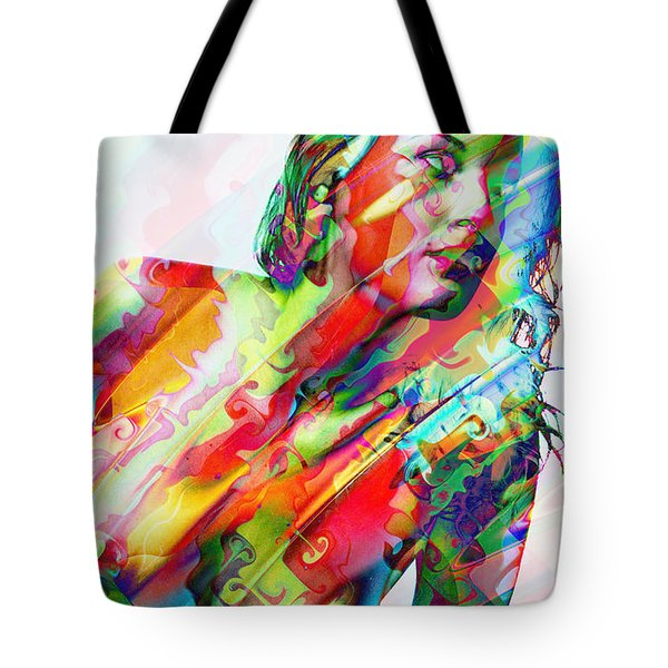Myriad Of Colors Tote Bag