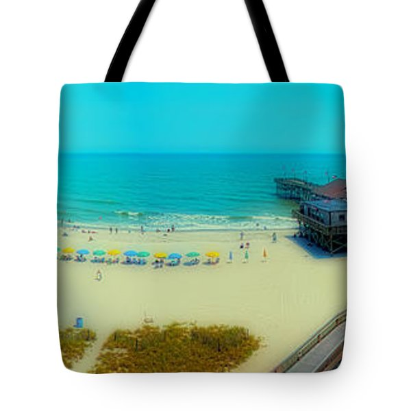 Tote Bag featuring the photograph Myrtle Beach South Carolina by Alex Grichenko