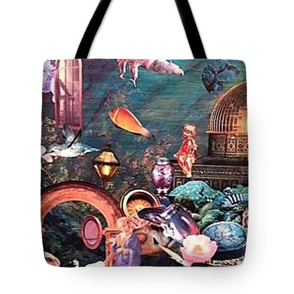Mysteries Tote Bag by Gail Kirtz