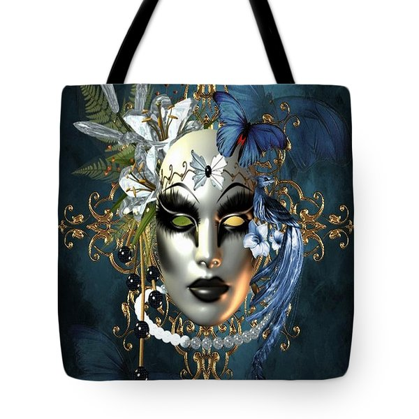 Mysteries Of The Mask 1 Tote Bag