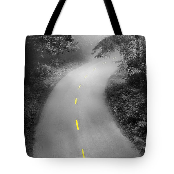 Mysterious Tote Bag by Alice Cahill