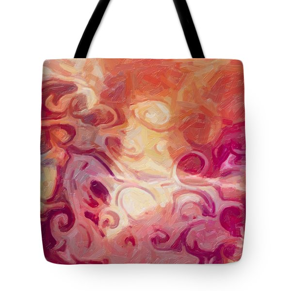 Mysterious Beauty Tote Bag by Omaste Witkowski