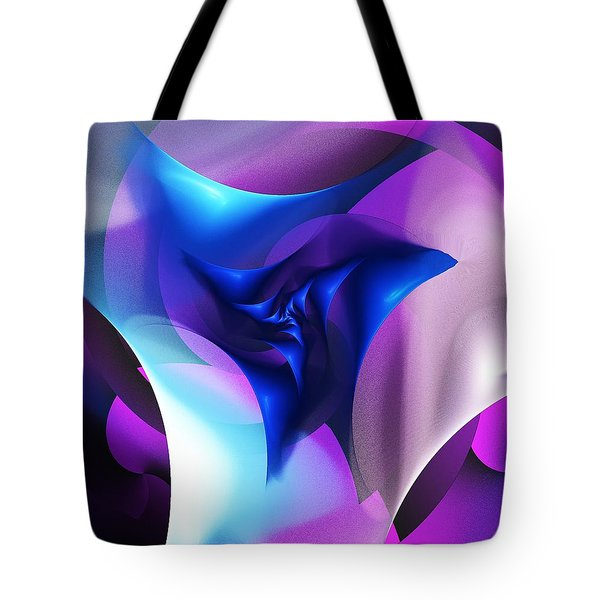 Tote Bag featuring the digital art Mysterious  by David Lane