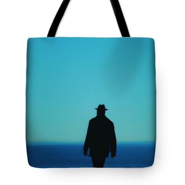 Mysterious Man Tote Bag by Karol Livote