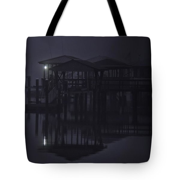 Tote Bag featuring the photograph Mysterious Morning by Laura Ragland