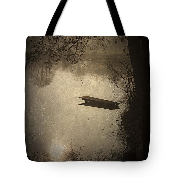 Mysterious Morning Tote Bag