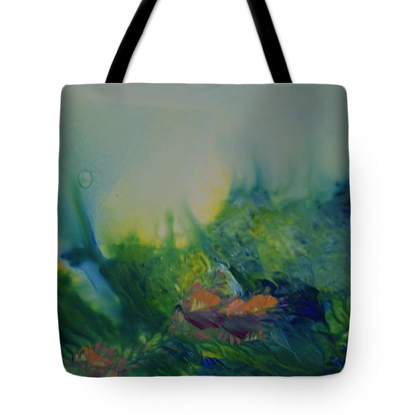 Mysterious Ocean Tote Bag