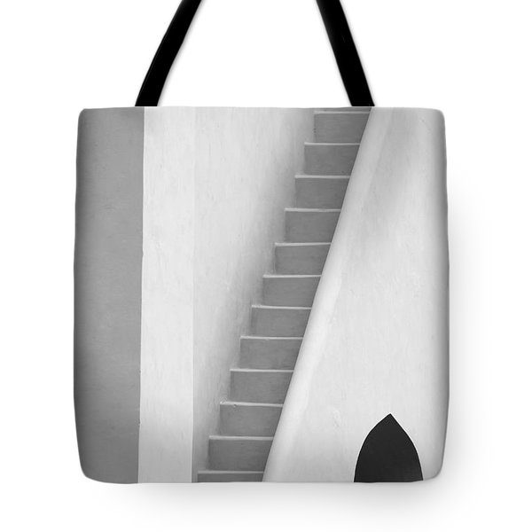 Mysterious Staircase Tote Bag