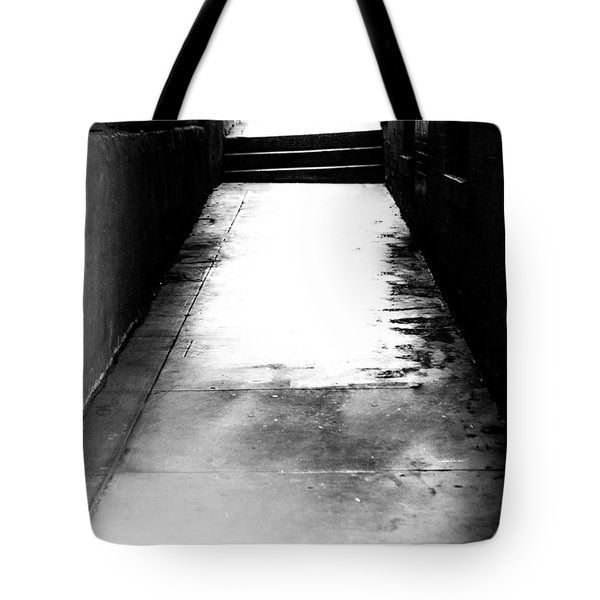 Mysterious Walkway Tote Bag by Shelby  Young