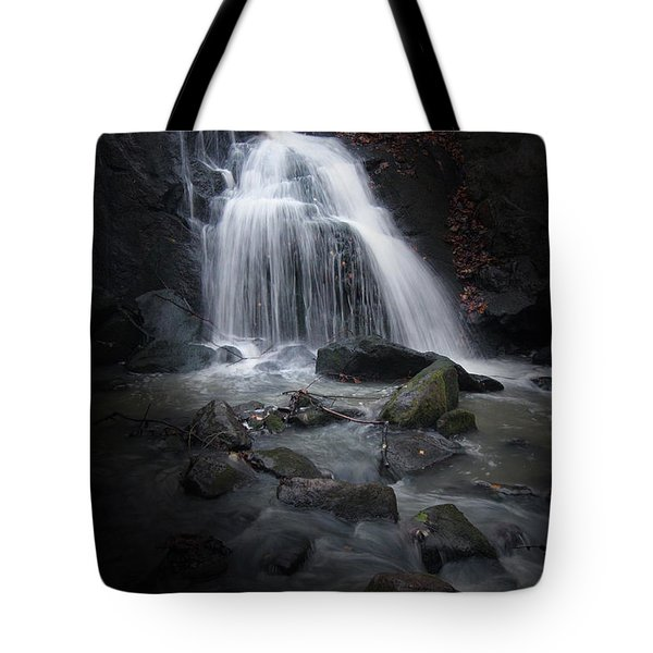 Mysterious Waterfall Tote Bag