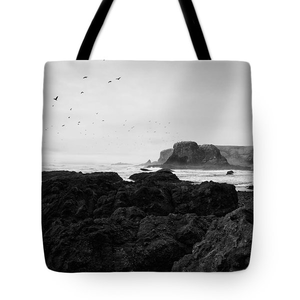 Mysterious Yaquina Head Tote Bag