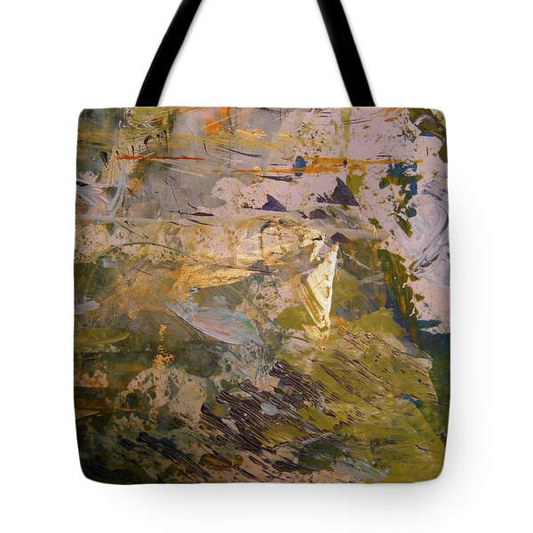 Tote Bag featuring the painting Mystery 2 by Nancy Kane Chapman