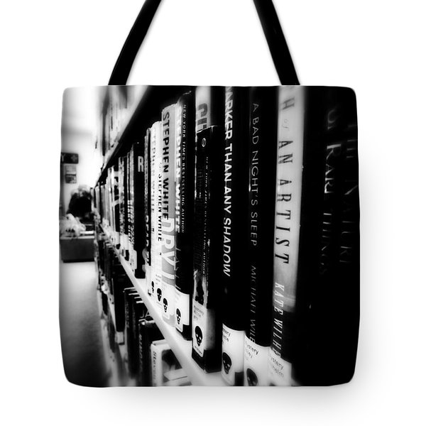 Tote Bag featuring the photograph Mystery At The Library by Lucinda Walter
